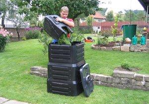 V Praze 12 se zahradníci mohou těšit na zapůjčení kompostérů zdarma (ilustrační foto).