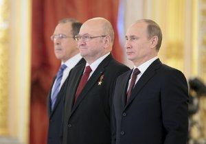 Remek končí v Rusku dřív: Šéfovi ambasády chybí v Moskvě rodina