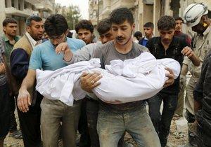 Boje v Sýrii a Iráku si žádají životy čím dál více civilistů.
