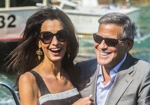 George a Amal Clooneyovi čekají dvojčata.