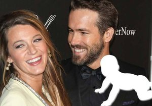 Blake Lively a Ryan Reynolds září štěstím: Stali se dvojnásobnými rodiči!