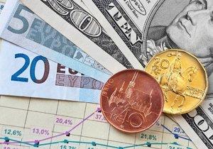 Analytici: Koruna může do roka posílit až pod 26 Kč/EUR.