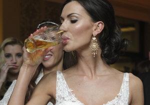 Bučková promluvila o svatbě s Vágnerem: 80 příbuzných z její strany a šaty jako princezna