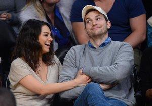 Mila Kunis a Ashton Kutcher jsou podruhé rodiči.