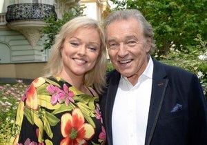 Dominika Gottová se svým otcem.