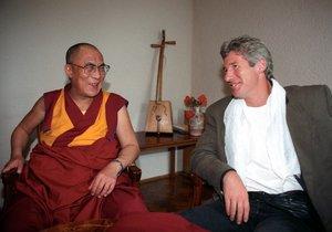 Richard Gere s dalajlamou