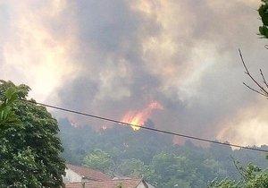 Dovolenkový ráj hoří: Hasiči bojují s požáry v Chorvatsku i Černé Hoře (ilustrační foto)