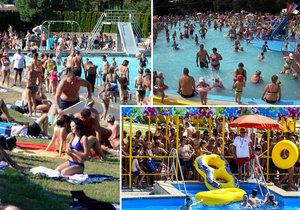 Lidé v Česku si už tepla užili i v minulém měsíci.