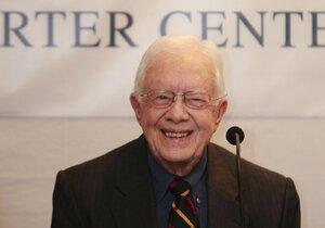 Jimmy Carter ohlásil, že má rakovinu.