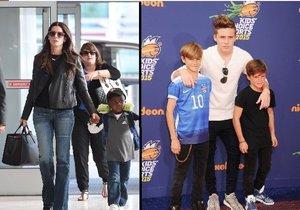 Mezi nejrozmazlenější děti patří třeba syn Willa Smithe, Sandry Bullock nebo synové Davida a Victorie Beckham.