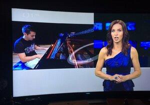 Nora Fridrichová se vrátila na obrazovky pět měsíců po porodu.