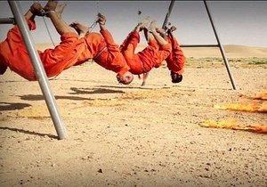 Islámský stát zaživa ugriloval zajatce