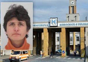 Z Krče utekla žena s nakažlivou nemocí: Neviděli jste nemocnou Bulharku?