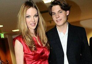 Pavlína Němcová se synem Alainem