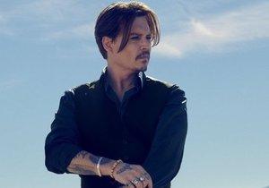 Johnny Depp se stal další slavnou tváří luxusního parfému