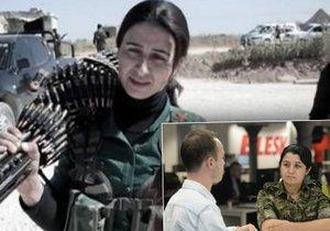 Šéfka kurdských milic bojuje s ISIS: Bojím se mít děti, dokud je neporazíme
