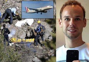 Andreas Lubitz namířil airbus Germanwings úmyslně do horského masivu a 149 cestujících vzal s sebou na smrt.