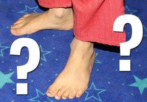 Poznáte, čí to jsou nohy?