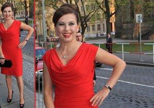 Dana Morávková ráda nosí šaty