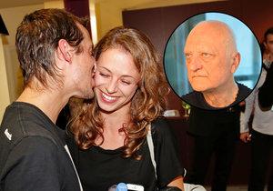 Syn Bořka Šípka Dalibor vyvedl krásnou přítelkyni.