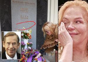 Zdá se, že zesnulý prezident byl opravdu pečlivka. Své manželce načrtnul i to, kde bude jednou navždy odpočívat.