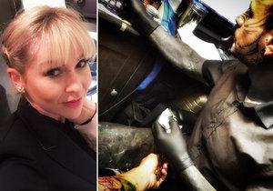 Kateřina Kaira Hrachovcová si pořídila první tetování.