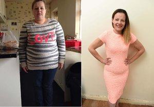 Angličanka zhubla o padesát kilogramů: Stačilo, aby vynechala sladkou limonádu!