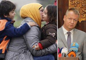 Ministr Němeček vystoupil na tiskovce o migraci, riziku nemocí a očkování především dětí uprchlíků