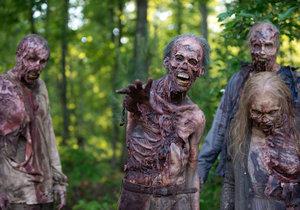 Seriál The Walking Dead má nejlepší zombie široko daleko.