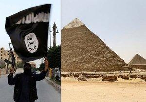 K útoku u egyptských pyramid se přihlásil Islámský stát.