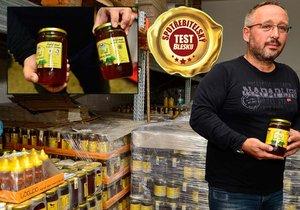 Dvě laboratoře potvrdily zakázaná antibiotika v medu od výrobce Včelpo.