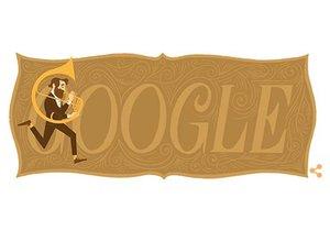 Google věnoval Adolphu Saxovi Doodle logo.