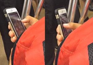 Japonec naťukal extrémně dlouhý kód do mobilu nesmírně rychle.