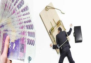 Až 20 % zadlužených osob, které mají problémy se splácením svých závazků, si půjčilo peníze pro někoho jiného.