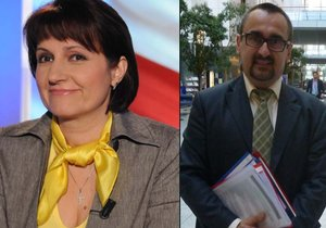 Čeští europoslanci Michaela Šojdrová (KDU-ČSL) a Pavel Poc (ČSSD)