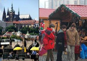 Sobota bude patřit vánočním trhům na Staroměstském náměstí, neděle těm nejnovějším na Pražském hradě!