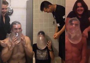 Kondomová výzva pobláznila uživatele sociálních sítí.