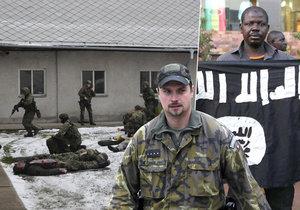 Vojáci cvičí i v zimě na příští rok, kdy se vydají do nebezpečného Mali.