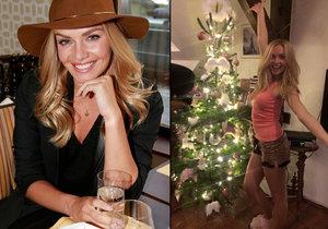 Táňa Kuchařová si udělala vánoční atmosféru už v listopadu.