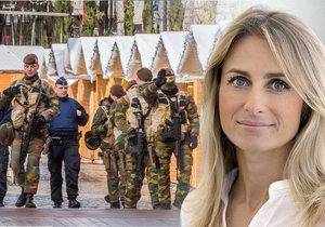Europoslankyně Dita Charanzová promluvila o bezpečnostních opatřeních i terorismu.