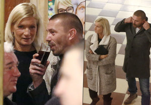 Tomáš Řepka vyvedl do společnosti neznámou blondýnu.
