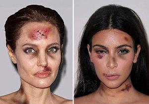 Žádná žena není imunní vůči domácímu násilí. Dokonce ani světoznámé celebrity v čele s Kim Kardashian či Angelinou Jolie. Nebo je to trochu jinak?