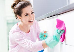 Poradíme, jak mít úklid rychle a nechat za sebou třpytící se koupelnu!