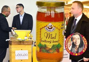 Jurečka udělal »ty, ty, ty« na sjezdu včelařů, ale... Kdo zachrání český med?