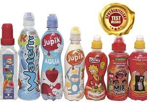 Blesk testoval dětské nápoje.