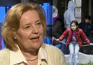 Magda Vášáryová promluvila v ČT o uprchlické krizi a strachu z uprchlíků (nejen) na Slovensku.