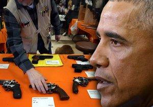Americký prezident chce obejít Kongres a zpřísnit prodej a držení zbraní.