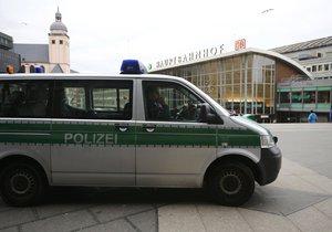 Policie v Kolíne nad Rýnem, kde k sexuálním útokům došlo.