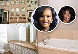 Dům, ve kterém zemřela dcera Whitney Houston Bobbi Kristina, je na prodej.