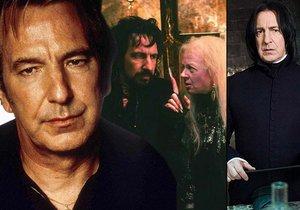 Zemřel slavný Alan Rickman, jaké byly jeho nejslavnější role?